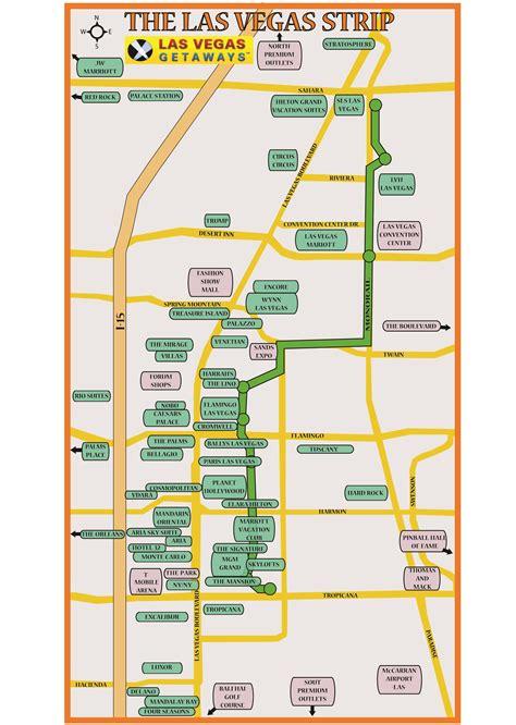 las vegas strip  map jpg 2493x3508